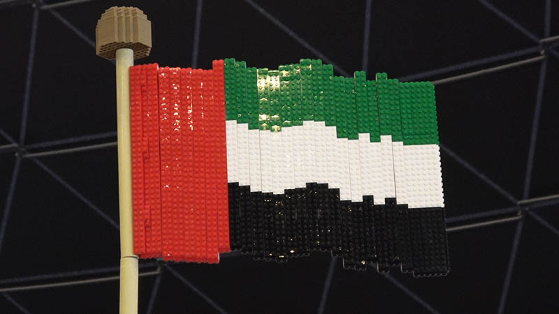UAE Flag in Lego