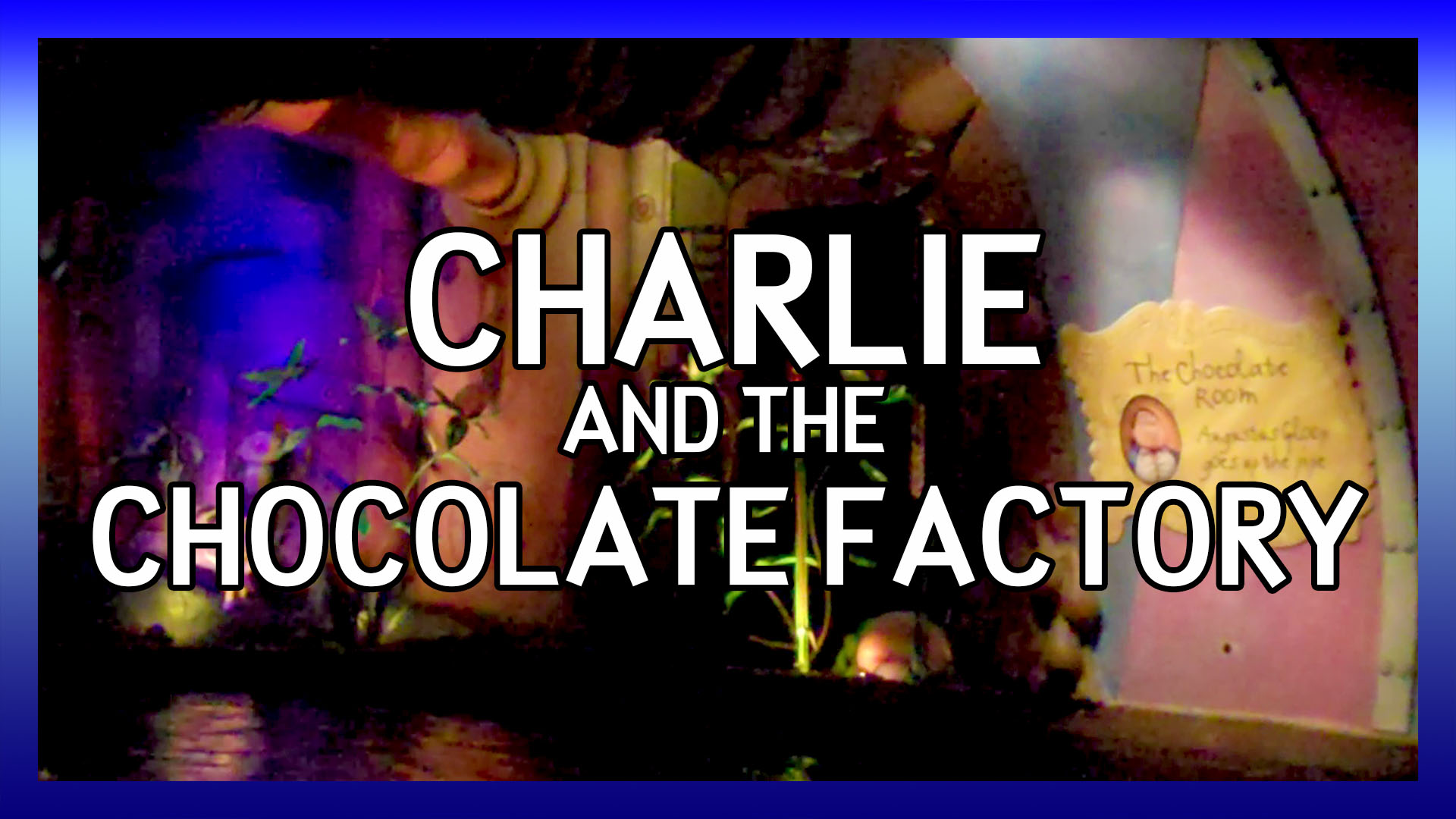 Alton Towers Charlie and the Chocolate Factory ride through 2010 video