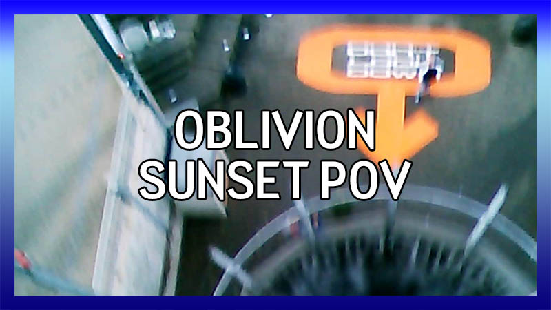 Oblivion at Sunset POV (old - low quality) video
