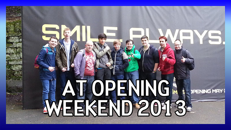 Alton Towers Opening Weekend 2013 video