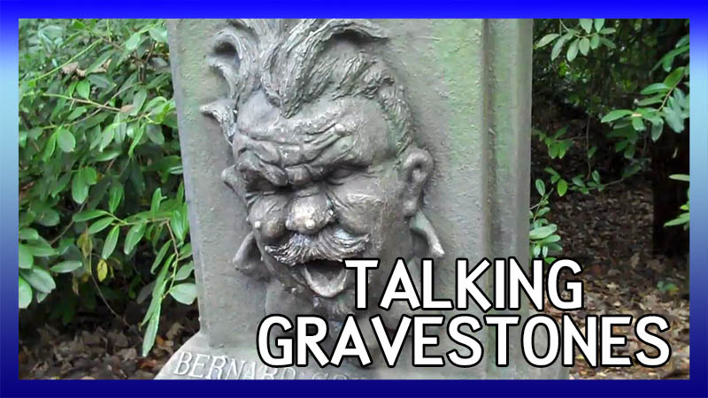 Talking Gravestones at Alton Towers video