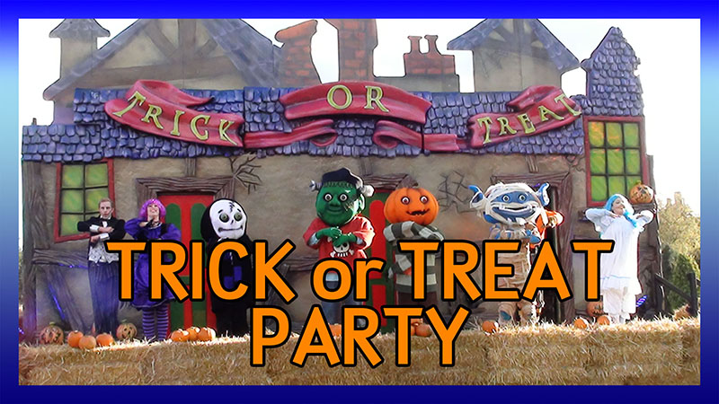 Patch's Trick-or-Treat Party 2011 video