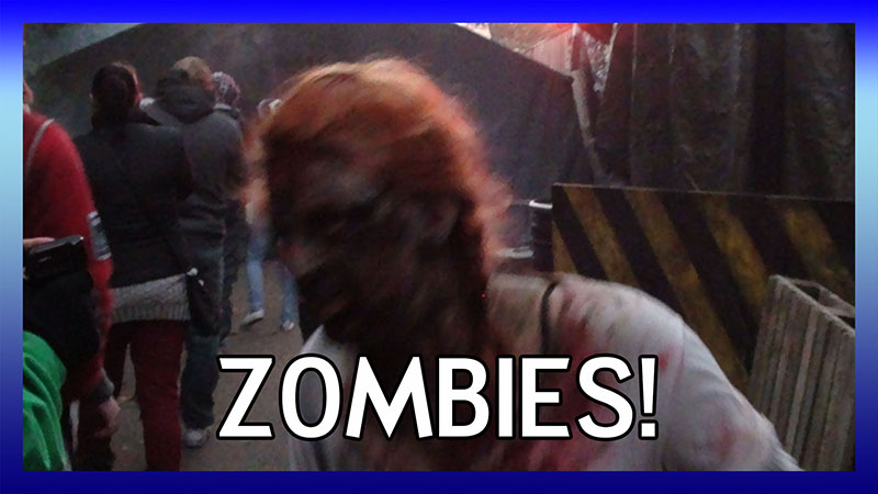 Zombies! Scare Zone 2012 (Day) video