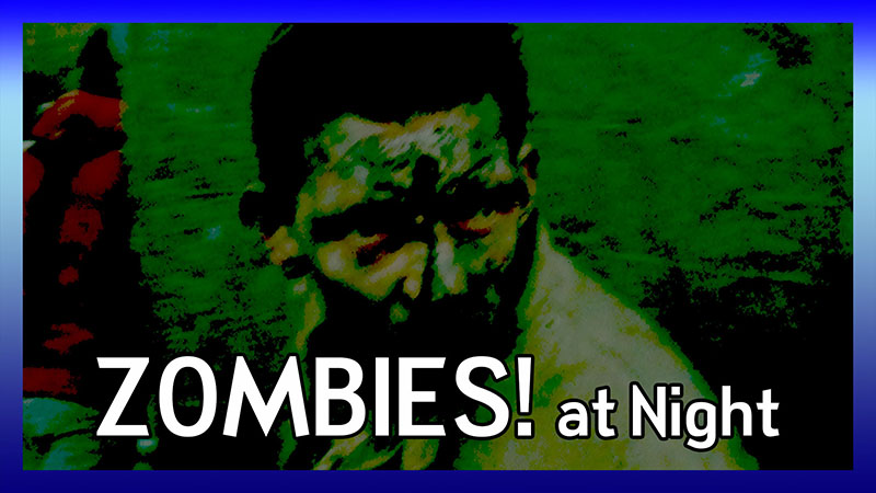 Zombies! Scare Zone 2012 (Night) video