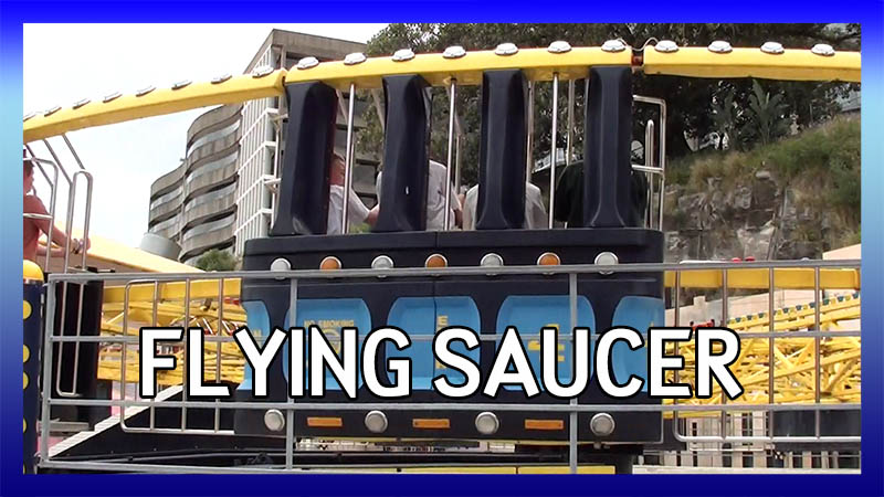 Luna Park Sydney Flying Saucer video