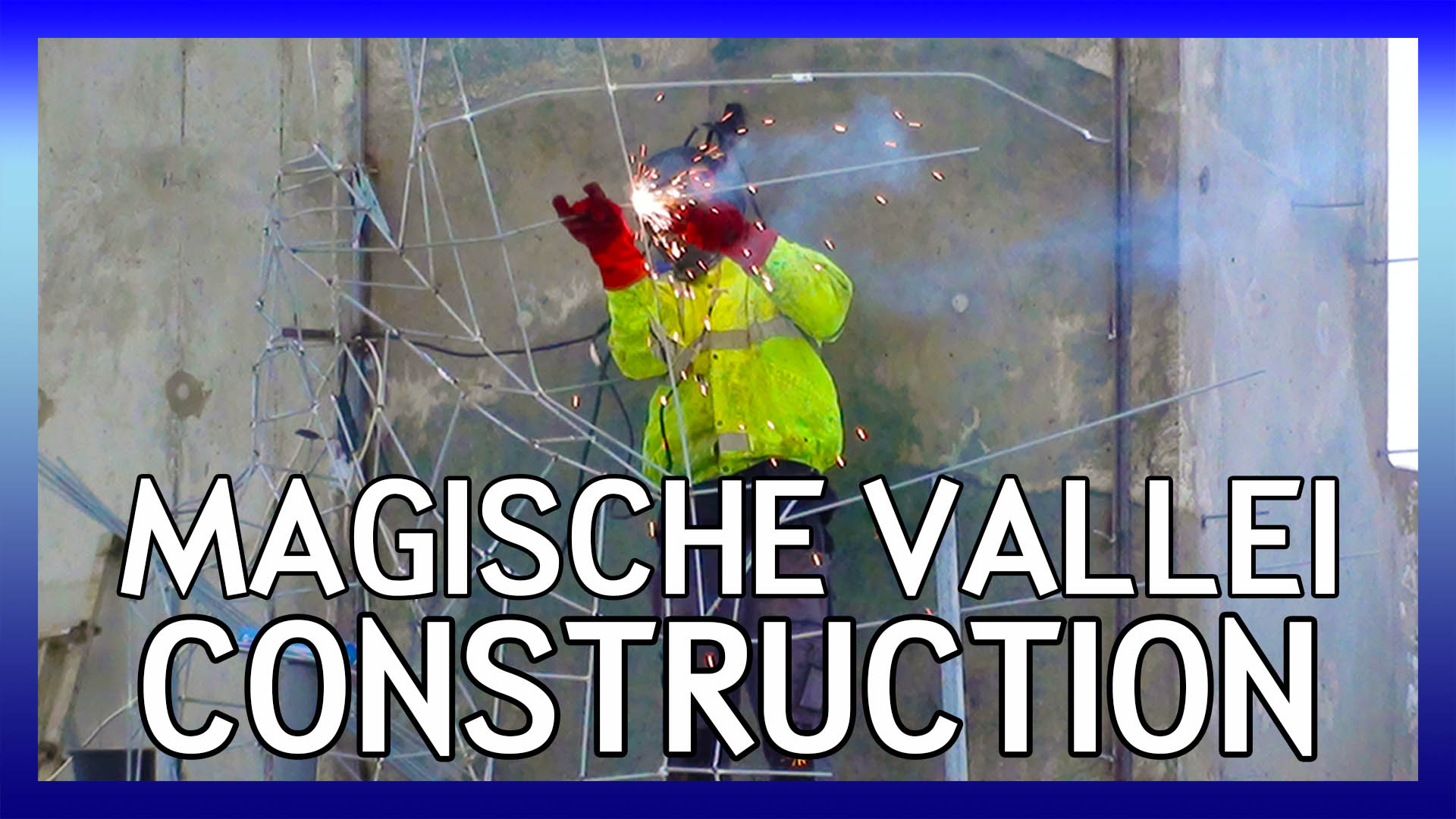 Magische Vallei Construction Tour video