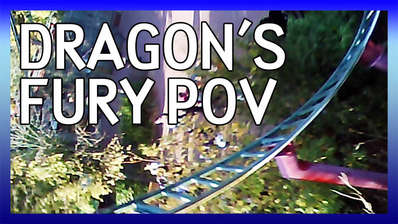 Dragon's Fury PoV video