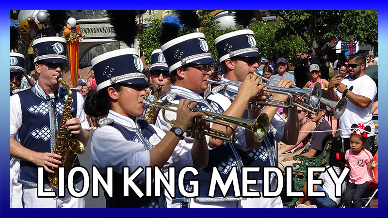 The Disneyland Band plays a Lion King medley video