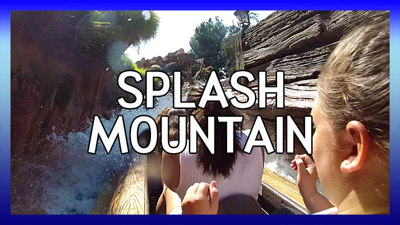 Splash Mountain POV video