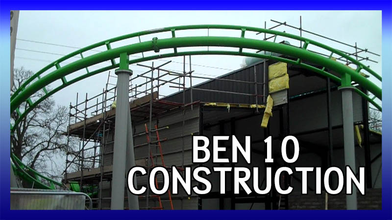 Ben 10 Ultimate Mission construction video