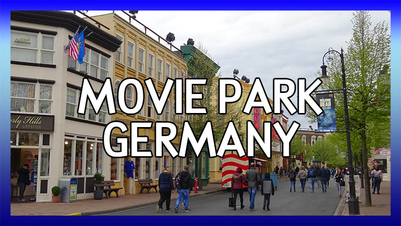 Movie Park Germany video