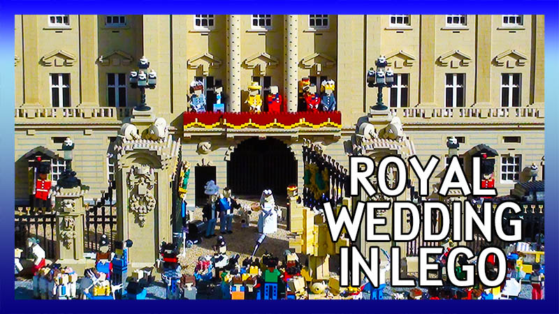 The Royal Wedding in Lego - William and Kate video