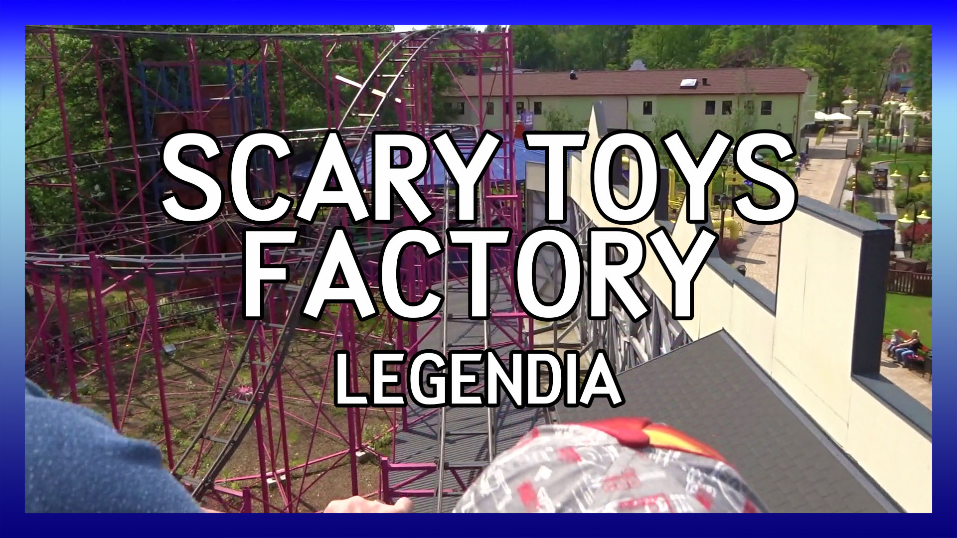 Legendia Scary Toys Factory POV video