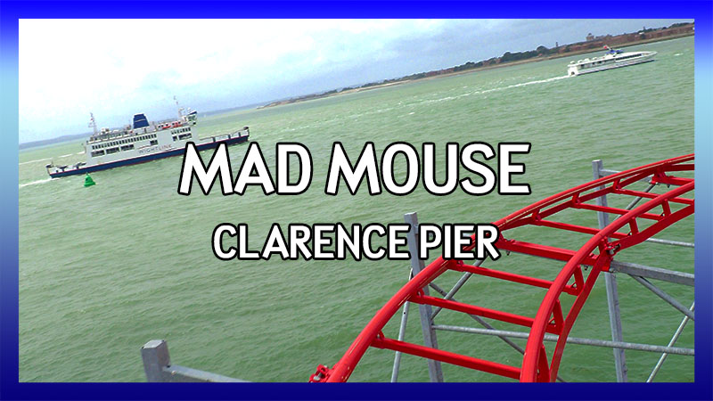 Clarence Pier Mad Mouse POV video