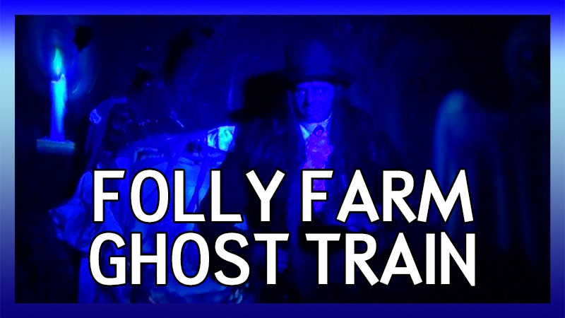 Folly Farm Ghost Train POV video