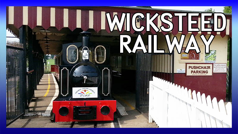 Wicksteed Park Railway video
