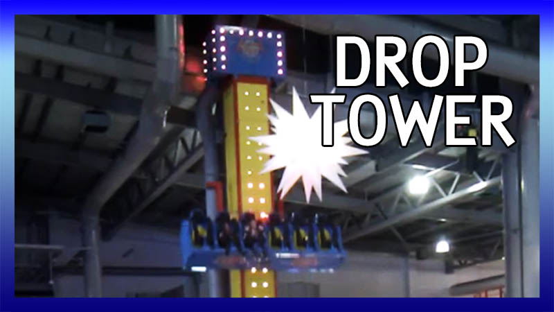 Freefall Drop Tower video
