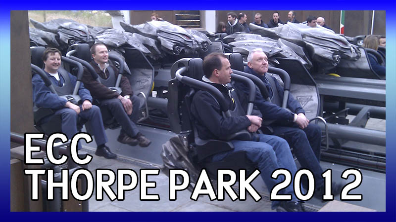 ECC Thorpe Park Trip 2012 video