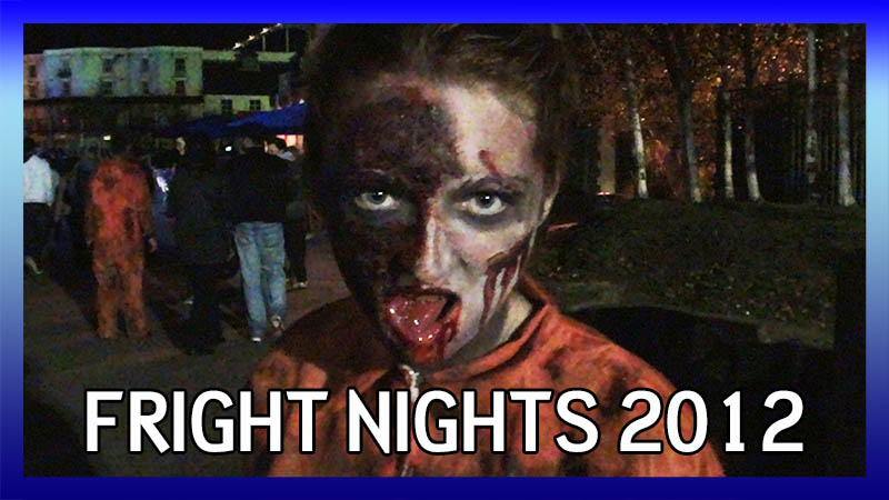 Fright Nights 2012: Actors in the Park video