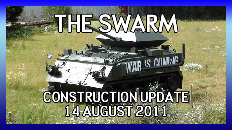 The Swarm 14 August 2011 Construction Update video