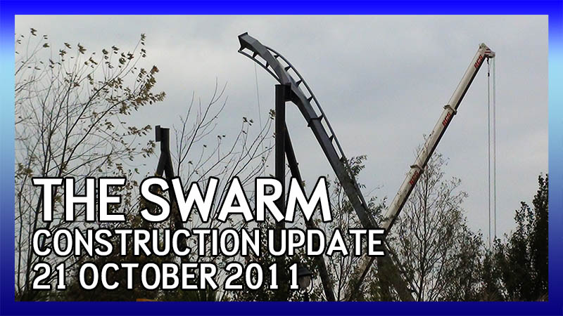 The Swarm 21 October 2011 Construction Update video