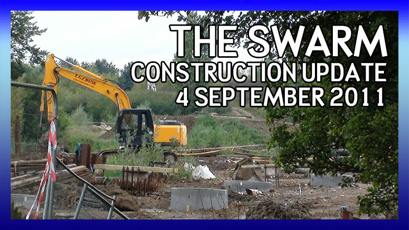 The Swarm 4 September 2011 Construction Update video