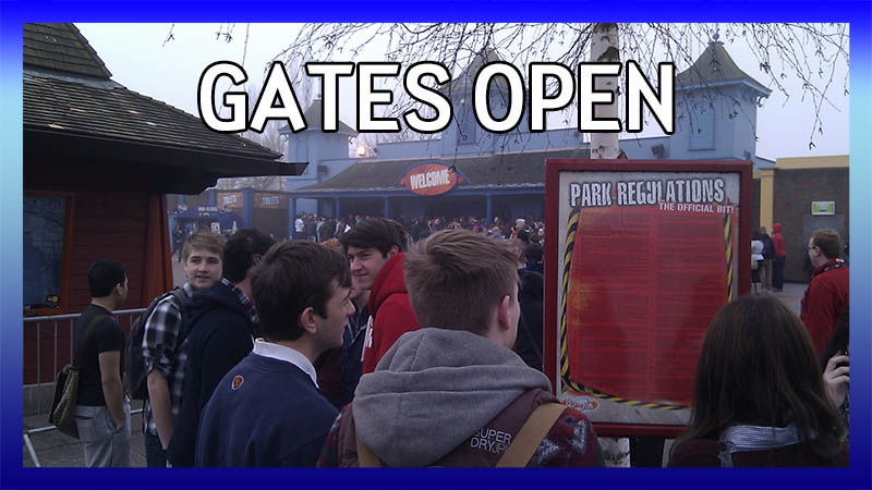 Gates Open on The Swarm Opening Day video