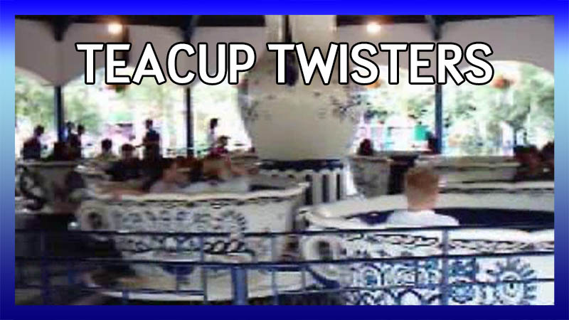 Teacup Twisters in 2003 video