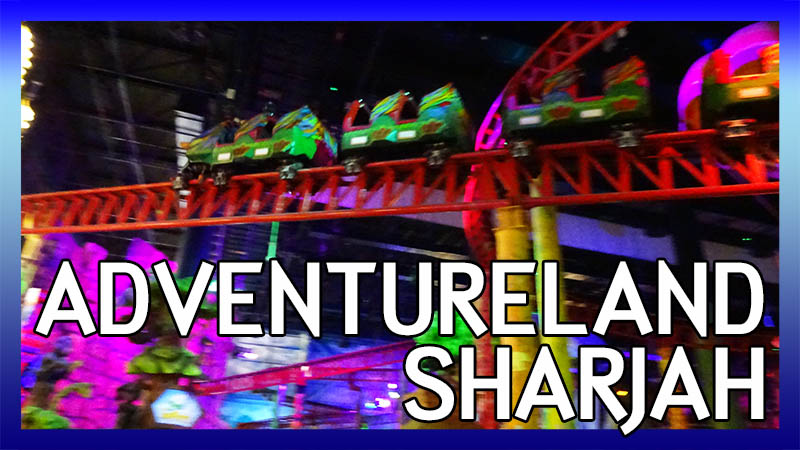 ECC Arabian Adventure UAE Trip 2017: Adventureland Sharjah video