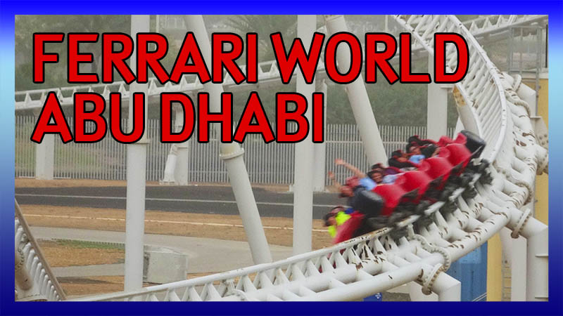 ECC Arabian Adventure UAE Trip 2017: Ferrari World video