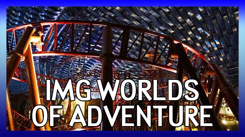 ECC Arabian Adventure UAE Trip 2017: IMG Worlds of Adventure video