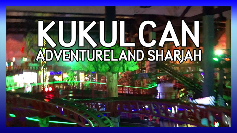 Kukulcan rollercoaster POV video