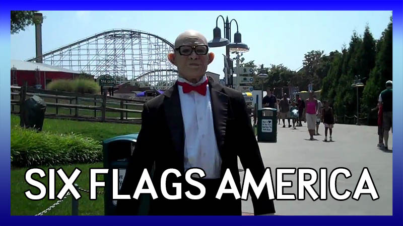 Having Ourselves a Six Flags Day at Six Flags America video