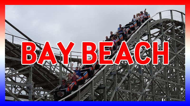 USA Road Trip 2016: Day 1 at Bay Beach video