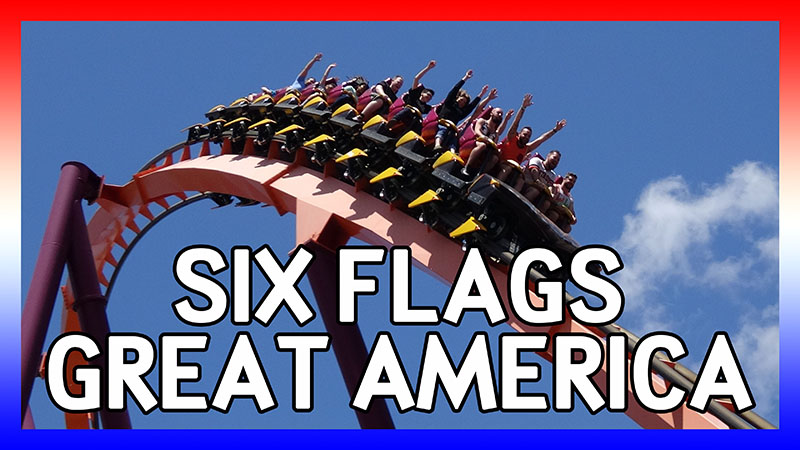 USA Road Trip 2016: Days 2&3 at Six Flags Great America video