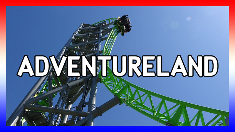 USA Road Trip 2016: Day 4 at Adventureland video