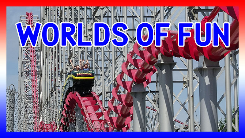 USA Road Trip 2016: Day 4 and 5 at Worlds of Fun video
