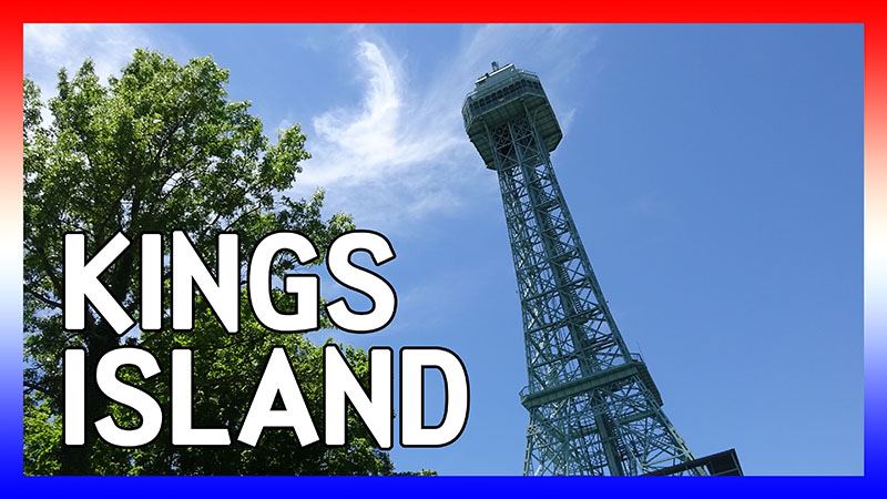 USA Road Trip 2016: Days 9&10 at Kings Island video