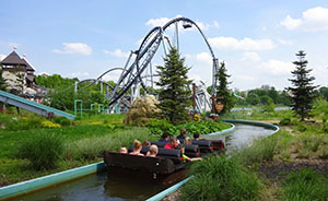Diamond River, with Lech Coaster in the background