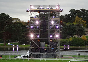 Lighting Tower under test