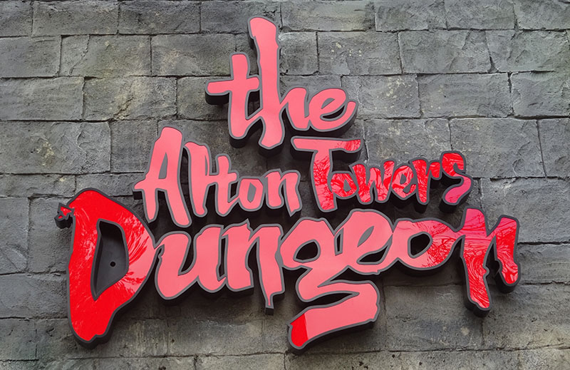 Alton Towers Dungeon review