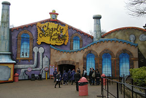 The ride entrance