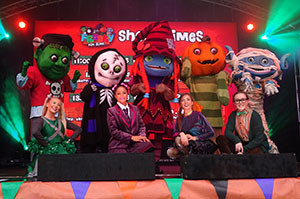 The 2018 Freaky Fun Zone cast
