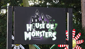 House of Monsters sign