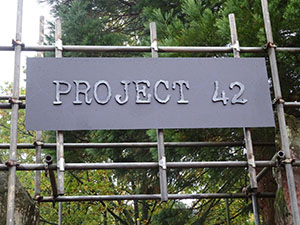 Project 42 doesn't have the most imaginative logo