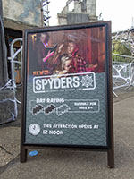 Spyders opens every day at noon