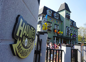 Haunted House Monster Party opened in April 2019