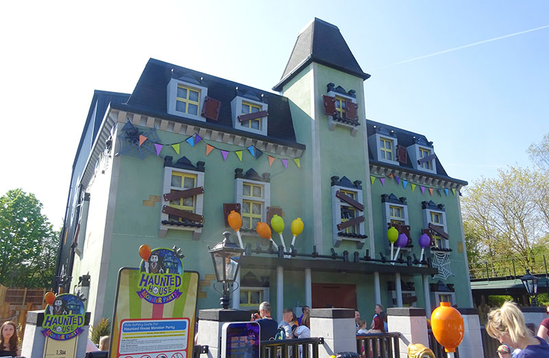 Legoland's new Haunted House Monster Party