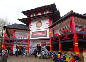 The Ninjago ride building