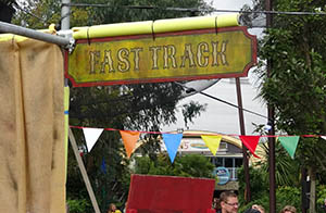 Themed Fast Track entrance